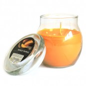 Scented Large Glass Jar Candle - Mango/Papaya