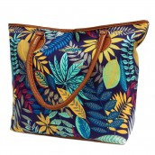 Jungle Bag - Tote Shopping - Blue/Teal