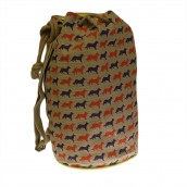 Jute Duffle Bag - Fox