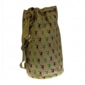 Jute Duffle Bag - Little Monkey