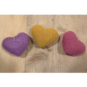 Japanese Konjac Heart Sponge - Mix Pack of 3