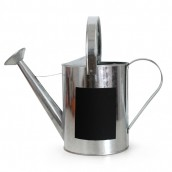 Large Zinc Watering Can with Chalk Board