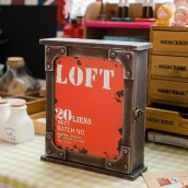 Loft Key Box - Red