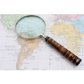Vintage Magnifying Glass - Bone Style