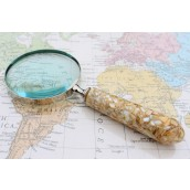 Vintage Magnifying Glass - Mother of Pearl