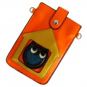 Owl Pouch - Orange & Yellow