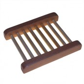 Plantane Wood Soap Dish - Ladder