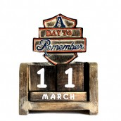 Day to Remember Calendar - A Day to Remember - Carved Sign