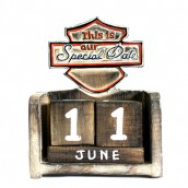 Day to Remember Calendar - This is Our Special Day - Carved Sign