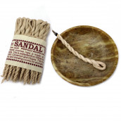 Pure Herb Sandalwood & Spice Rope Incense