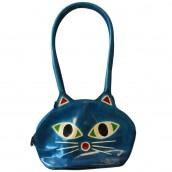 Pussy Cat Bag - Turquoise