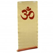 Natural Yoga Mat - Red