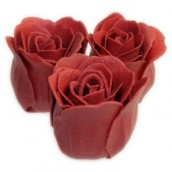 Bath Roses - 3 Roses in Heart Shaped Box (Rose)