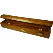 305mm Natural Sesham Wood Smoke Box