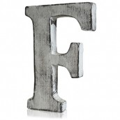 Shabby Chic Letter - F