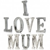Shabby Chic Letters - I Love Mum
