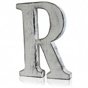 Shabby Chic Letter - R