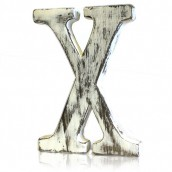 Shabby Chic Letter - X