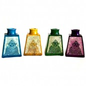 4 Buddha Reed Diffuser Jars - Assorted Colours