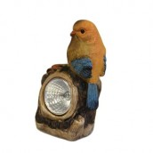 Solar Light - Orange Bird