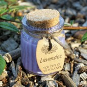 2 x Lavender Soy Pot of Fragrance Candles
