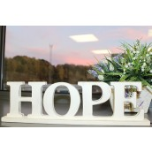 Standing Wooden Sign - Hope