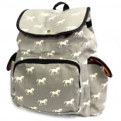 Traveller's Backpack - 3 Pocket Horses