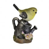 Tweet Alert - Yellow Bird on Watering Can