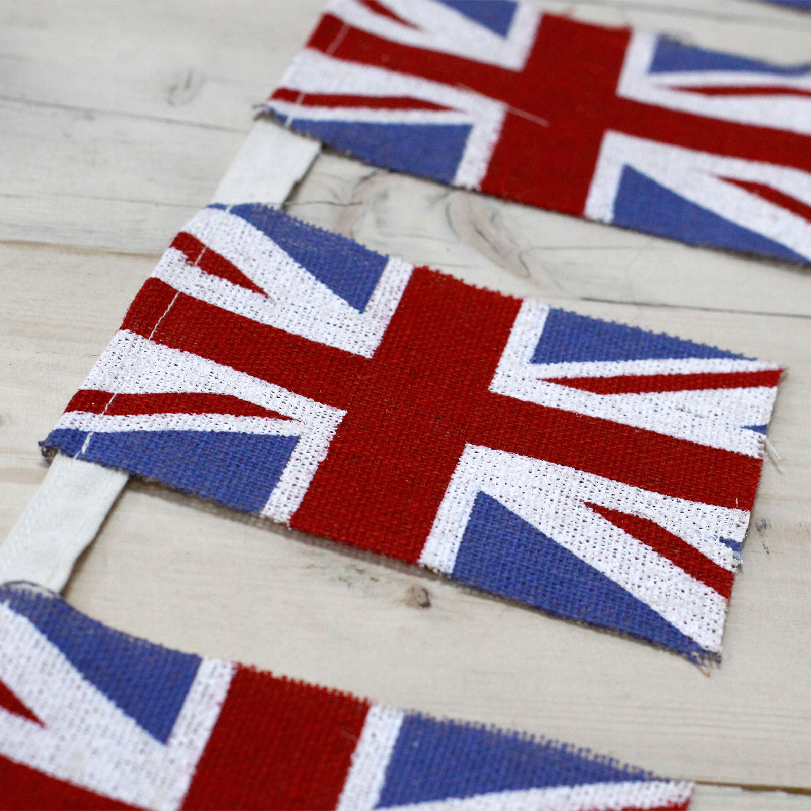 Natural Bunting - Union Flags x 2