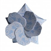 50 x Lily Boxes - Blue